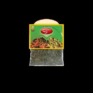 سبزی خشک بسته بندی شده سلفونی گلناب،محصول گروه مواد غذایی تکسان