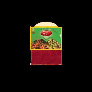 فلفل قرمز ۴۰ گرمی سلفونی گلناب محصولی از شرکت تکسان