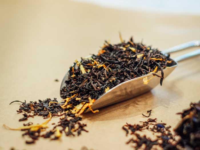 چای سیلان،پر شده در محصولات تکسان