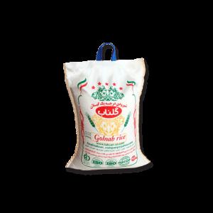 برنج شیرودی درجه یک گلناب،محصول شرکت تکسان